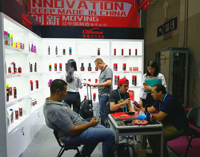 Comma car care at Canton Fair